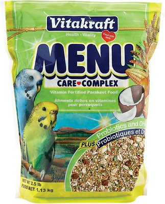 Vitakraft Menu Care Complex Parakeet