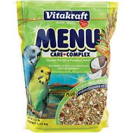 Vitakraft Menu Care Complex Parakeet Food, 2.5-lb bag