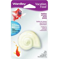 Wardley Gourmet Vacation Goldfish Fish Food Feeder, 10-day feeder