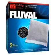 Fluval C3 Activated Carbon Filter Media, 3 count