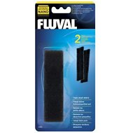 Fluval Nano Fine Foam Pad Filter Media, 2 count