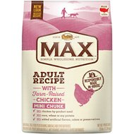 Nutro Max Mini Chunk Adult Recipe with Farm-Raised Chicken Dry Dog Food, 25-lb bag