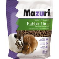 Mazuri Timothy-Based Rabbit Food, 5-lb bag