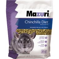 Mazuri Chinchilla Food, 2.5-lb bag