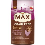Nutro Max Grain-Free Adult Recipe with Farm-Raised Chicken Dry Dog Food, 4-lb bag