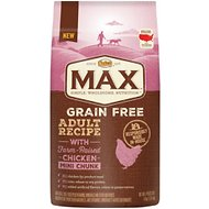 Nutro Max Grain-Free Mini Chunk Adult Recipe with Farm-Raised Chicken Dry Dog Food, 4-lb bag