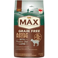 Nutro Max Grain-Free Adult Recipe with Pasture-Fed Lamb Dry Dog Food, 4-lb bag