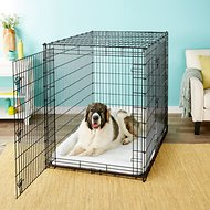 Frisco XX-Large Heavy Duty Double Door Wire Dog Crate, 54 inch