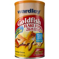 Wardley Goldfish Flake Fish Food, 6.8-oz jar