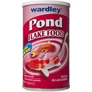 Wardley Pond Flake Fish Food, 6-oz jar