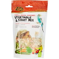 Zilla Small Animal Munchies Vegetable & Fruit Mix Lizard Food, 4-oz bag