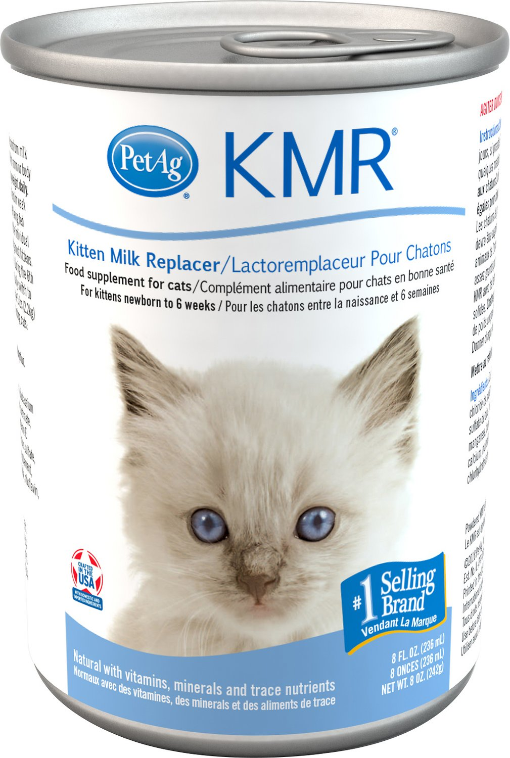 Petag Kmr Kitten Milk Replacer Liquid Free Shipping Chewy