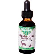 Animal Essentials Mushroom Defense Immune Support Dog & Cat Supplement, 2-oz bottle