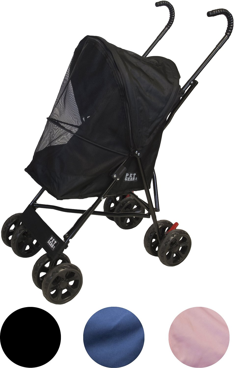 Pet Gear Travel Lite Pet Stroller, Black - Chewy.com