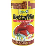 Tetra Betta 3-in-1 Select-A-Food Fish Food, 1.34-oz jar