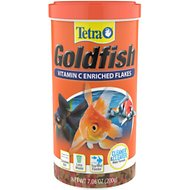 TetraFin Goldfish Flakes Fish Food, 7.06-oz jar