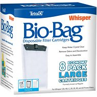 Tetra Bio-Bag Large Disposable Filter Cartridges, 8 count