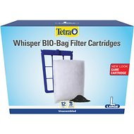 Tetra Bio-Bag Large Disposable Filter Cartridges, 12-count