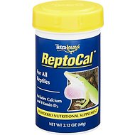 Tetrafauna ReptoCal Calcium Powder Reptile Supplement, 2.12-oz jar