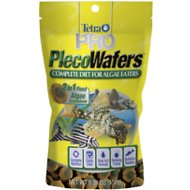 Tetra PRO PlecoWafers Complete Diet for Algae Eaters Fish Food, 5.29-oz bag