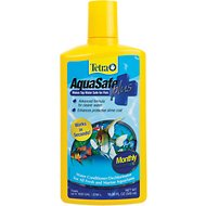 Tetra AquaSafe Plus Freshwater & Marine Aquarium Water Conditioner, 16.9-oz bottle