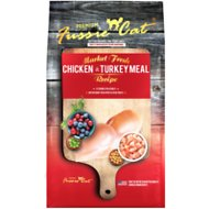 Fussie Cat Market Fresh Chicken & Turkey Recipe Grain-Free Dry Cat Food, 10-lb bag