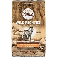 Nutro Wild Frontier  Adult Open Valley Recipe Grain-Free Chicken Dry Dog Food, 24-lb bag