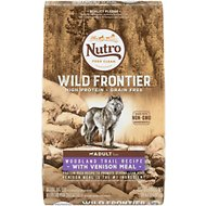 Nutro Wild Frontier Adult Woodland & Trail Recipe Grain-Free Venison Meal Dry Dog Food, 24-lb bag