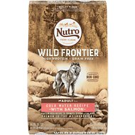 Nutro Wild Frontier Adult Cold Water Recipe Grain-Free Salmon Dry Dog Food, 24-lb bag