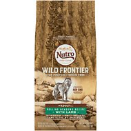 Nutro Wild Frontier Adult Rolling Meadows Recipe Grain-Free Lamb Dry Dog Food, 4-lb bag