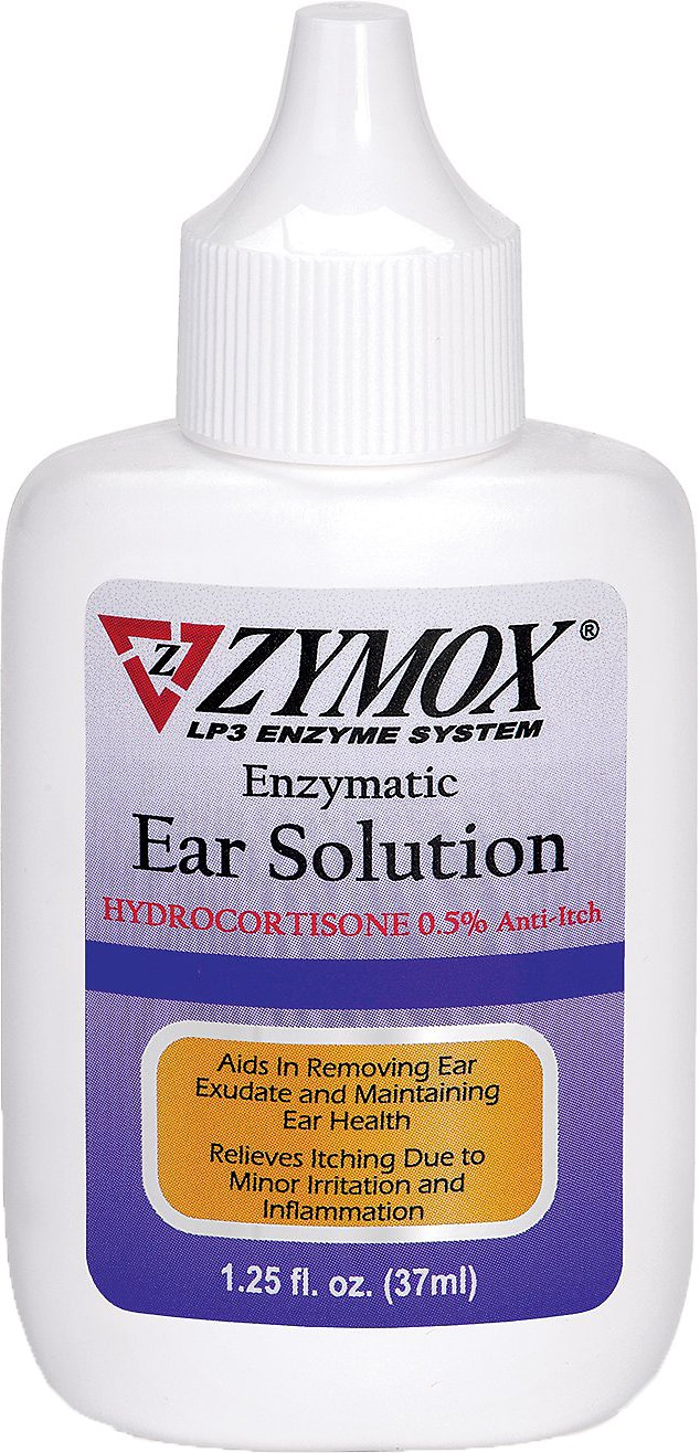 Zymox Ear Solution With 5 Hydrocortisone For Dogs Amp Cats