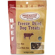 Muenster Natural Beef Freeze-Dried Dog & Cat Treats, 3-oz bag