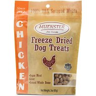 Muenster Natural Chicken Freeze-Dried Dog & Cat Treats, 3-oz bag
