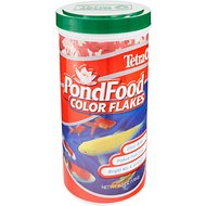 Tetra PondFood Color Flakes Koi & Goldfish Fish Food