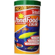 Tetra PondFood Color Enhancing Koi & Goldfish Fish Food, 4.94-oz jar