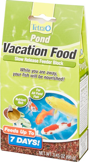 Tetra Pond Vacation Food Slow Release Feeder Block Fish