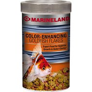 Marineland Color-Enhancing Goldfish Flakes Fish Food, 9.88-oz jar