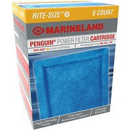 Marineland Bio-Wheel Penguin Rite-Size B Filter Cartridge, 6 count