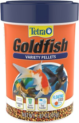 TetraFin Goldfish Flakes Fish Food, 3.53-oz jar - Chewy.com