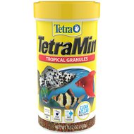 TetraMin Tropical Granules Fish Food, 3.52-oz jar