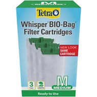 Tetra Whisper Bio-Bags Medium Filter Cartridge, 3 count