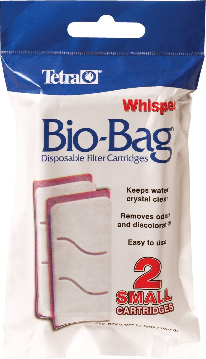 Tetra Whisper Bio Bags Small Filter Cartridge 2 Count