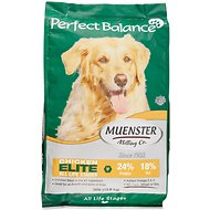 Muenster Perfect Balance Elite Chicken Meal All Life Stages Dry Dog Food, 30-lb bag