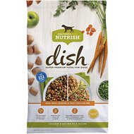Rachael Ray Nutrish Dish Natural Chicken & Brown Rice Recipe with Veggies & Fruit Dry Dog Food, 3.75-lb bag