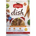 Rachael Ray Nutrish Dish Natural Beef & Brown Rice Recipe with Veggies, Fruit & Chicken Dry Dog Food