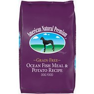 American Natural Premium Grain-Free Ocean Fish Meal & Potato Recipe Dry Dog Food, 30-lb bag