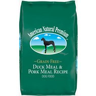 American Natural Premium Grain-Free Duck Meal & Pork Meal Recipe Dry Dog Food, 30-lb bag