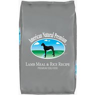 American Natural Premium Lamb Meal & Rice Recipe Dry Dog Food, 33-lb bag