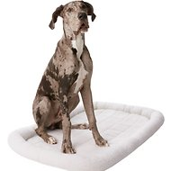 Frisco Quilted Dog Crate Mat, Ivory, 54-in