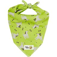 Insect Shield Bug Repellent Dog Bandana, Green